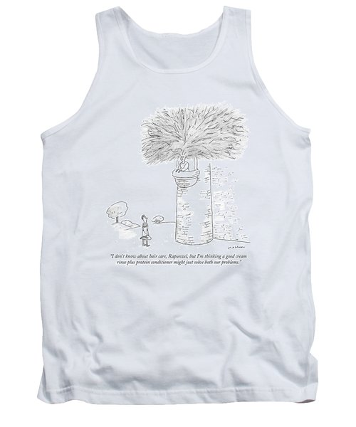 ?i Don?t Know About Hair Care Tank Top