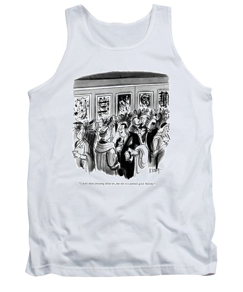 I Don't Know Anything About Art Tank Top