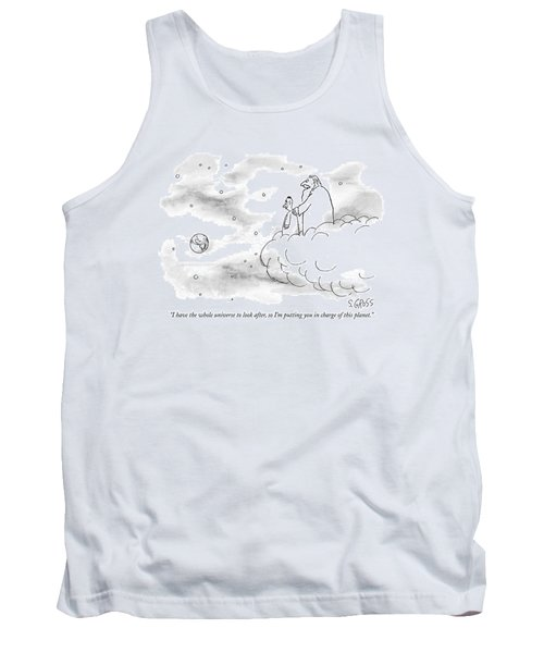 I Have The Whole Universe To Look Tank Top
