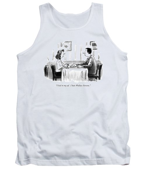I Lied In My Ad.  I Hate Wallace Stevens Tank Top