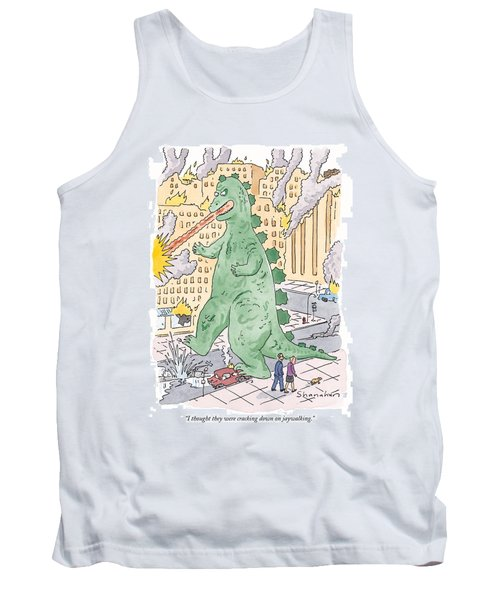 I Thought They Were Cracking Down On Jaywalking Tank Top