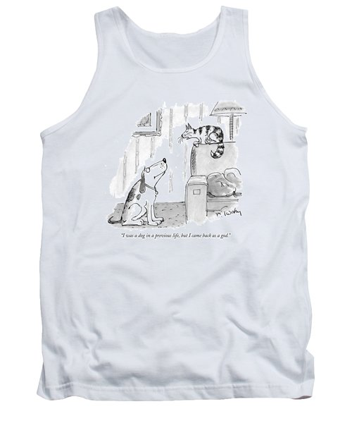 I Was A Dog In A Previous Life Tank Top