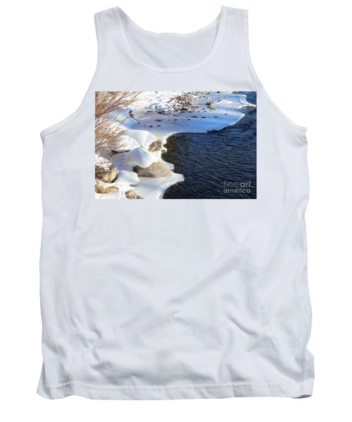 Ice Cold Water Tank Top by Fiona Kennard