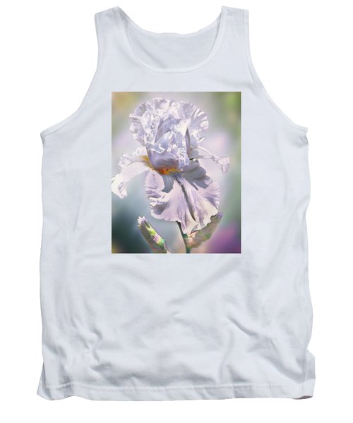 Tank Top featuring the digital art Ice Queen by Mary Almond