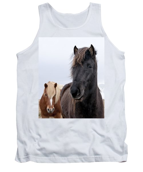 Iceland Horses Tank Top