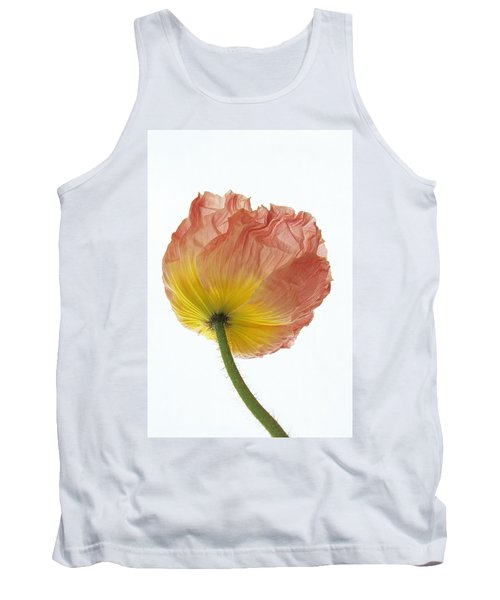 Tank Top featuring the photograph Iceland Poppy 1 by Susan Rovira