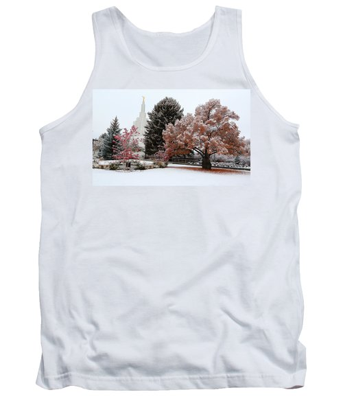 Idaho Falls Temple Winter Tank Top