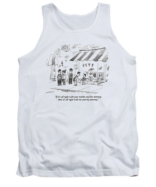 If It's All Right With Your Mother Tank Top