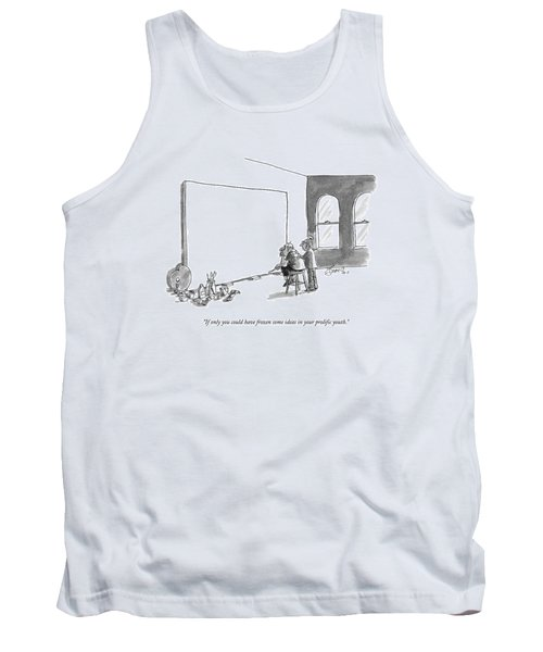 If Only You Could Have Frozen Some Ideas Tank Top