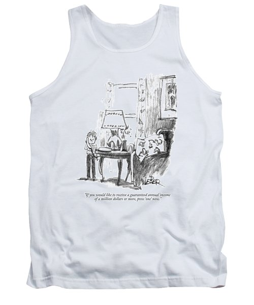 If You Would Like To Receive A Guaranteed Annual Tank Top