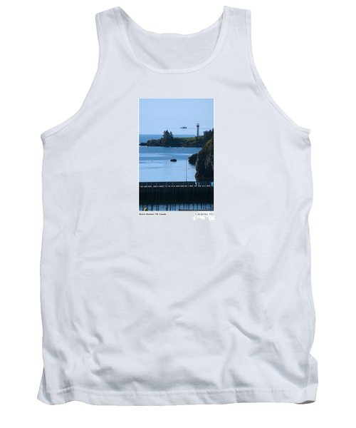 Illusion At Beaver Harbour Light Tank Top