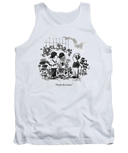 I'm For The Owners Tank Top