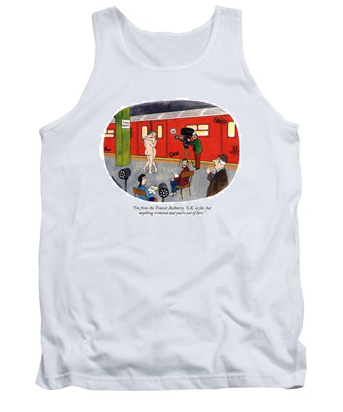 I'm From The Transit Authority.  O.k. So Far Tank Top
