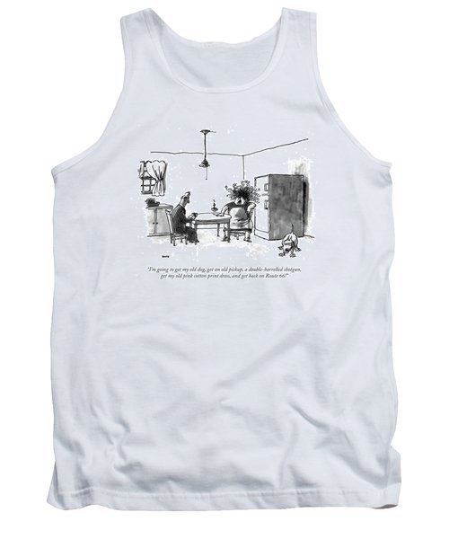 I'm Going To Get My Old Dog Tank Top