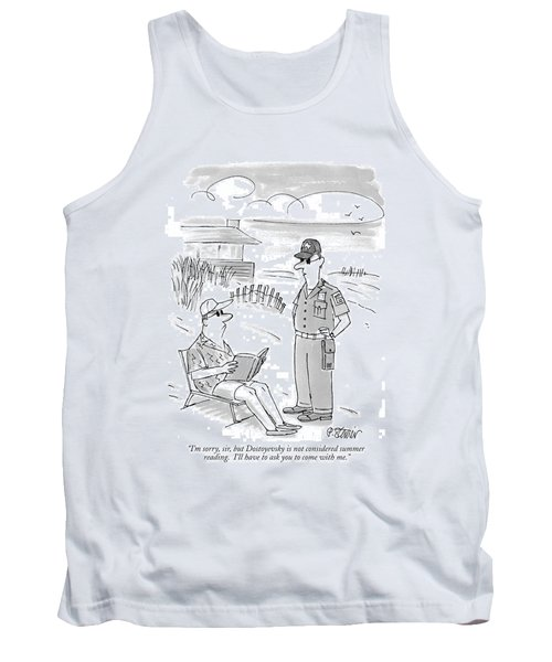 I'm Sorry, Sir, But Dostoyevsky Is Not Considered Tank Top