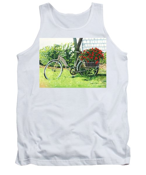 Impatiens To Ride Tank Top by LeAnne Sowa