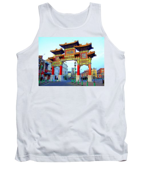 Imperial Chinese Arch Liverpool Uk Tank Top