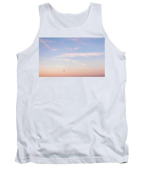 Tank Top featuring the photograph In Flight Over Rehoboth Bay by Pamela Hyde Wilson