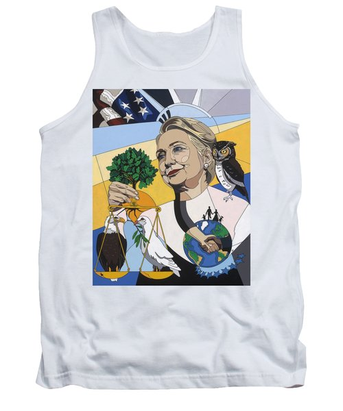 In Honor Of Hillary Clinton Tank Top