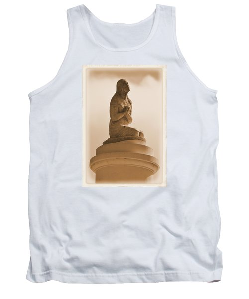Tank Top featuring the photograph In Supplication by Nadalyn Larsen