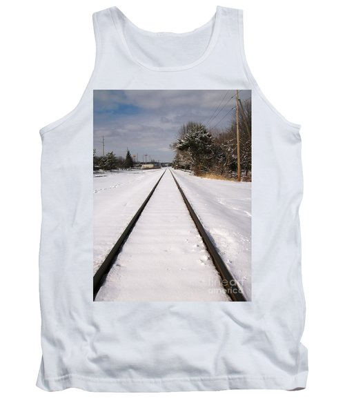 Tank Top featuring the photograph In The Distance by Sara  Raber
