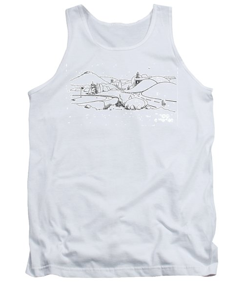 In The Land Of Brigadoon  Tank Top