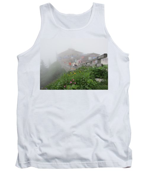 Tank Top featuring the photograph In The Mist by Pema Hou
