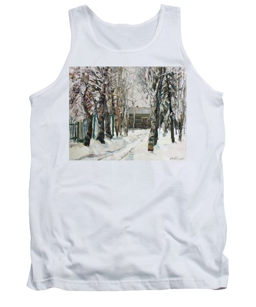 In The Snowy Silence Tank Top