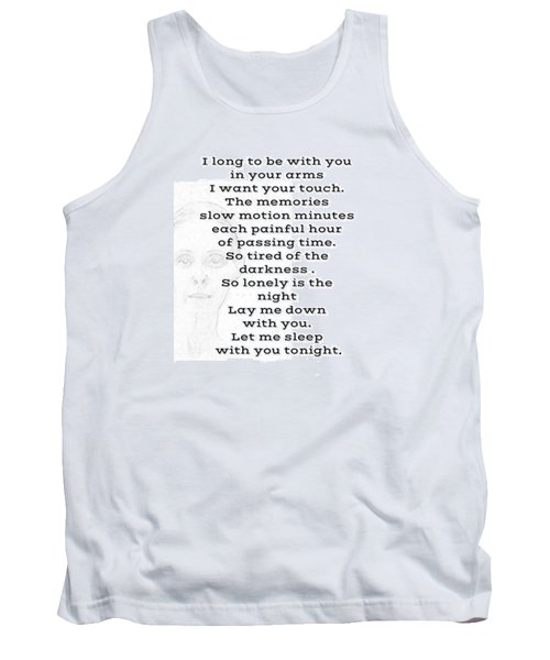 Insomnia  Tank Top by Lisa Piper