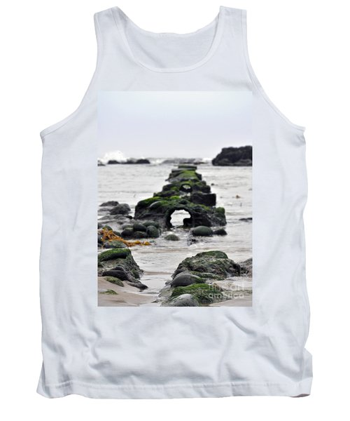 Into The Ocean Tank Top by Minnie Lippiatt