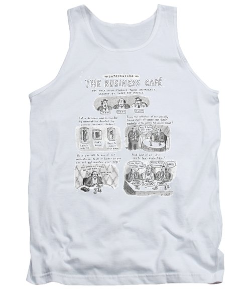 Introducing The Business Cafe The Only Tank Top