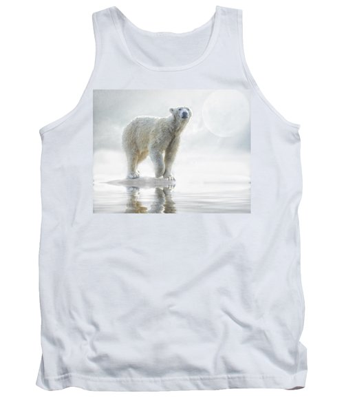 Is Anyone Out There? Tank Top by Brian Tarr