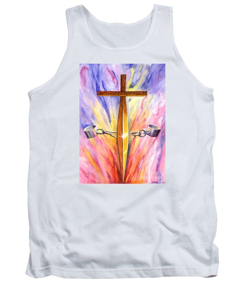 Isaiah Sixty One Verse One Tank Top