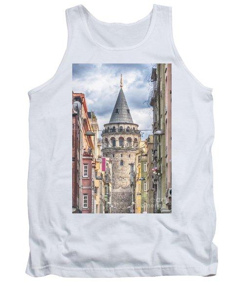 Istanbul Galata Tower Tank Top