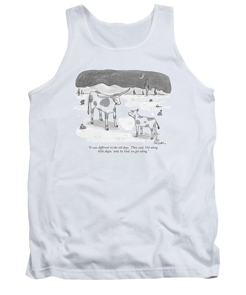 It Was Different In The Old Days.  They Said Tank Top