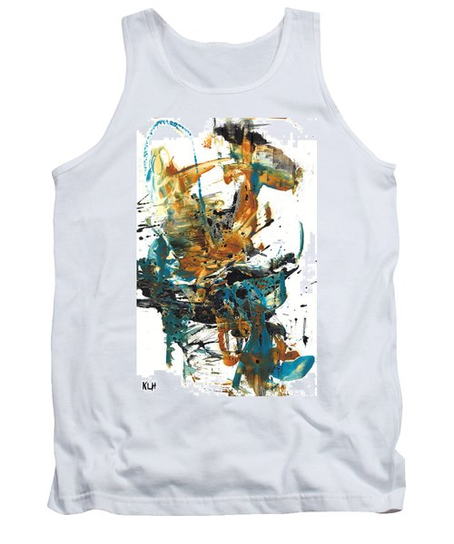 Tank Top featuring the painting It Went This Way 136.090710 by Kris Haas