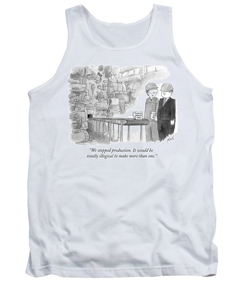 It Would Be Totally Illogical To Make More Than Tank Top