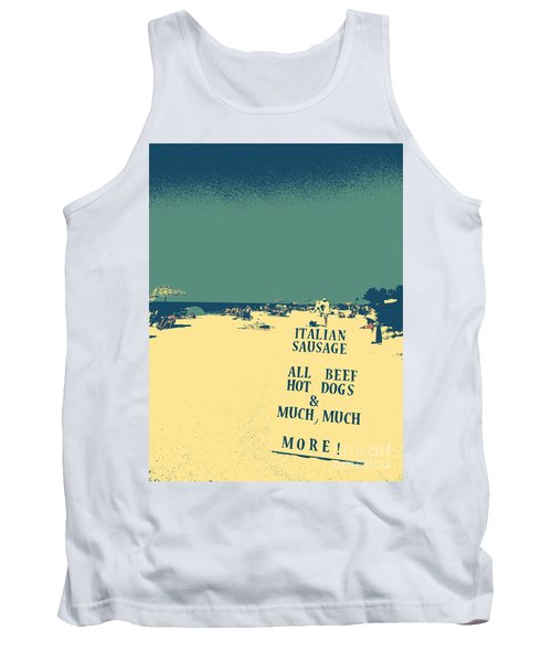 Tank Top featuring the digital art Italian Sausage by Valerie Reeves