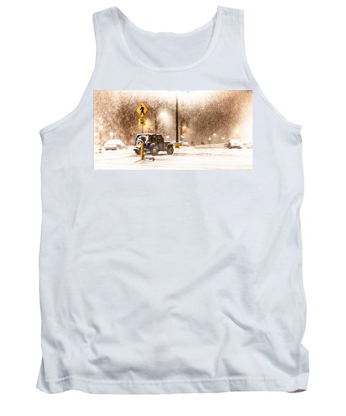 It's A Jeep Thing Tank Top by Sennie Pierson