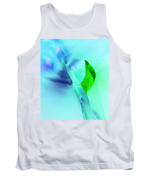 Tank Top featuring the digital art It's A Mystery  by David Lane
