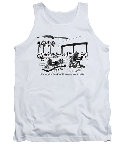 It's A New Take On 'snow White.' The Prince Turns Tank Top