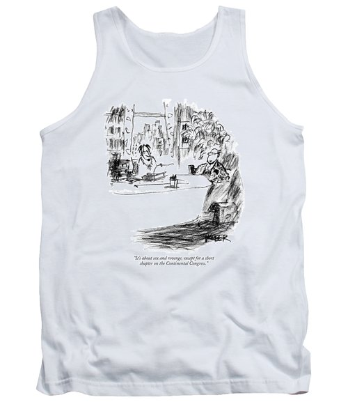 It's About Sex And Revenge Tank Top