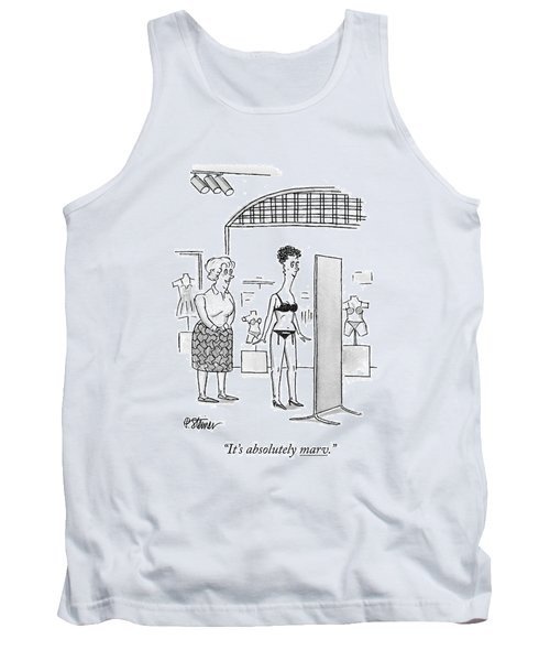 It's Absolutely Marv Tank Top