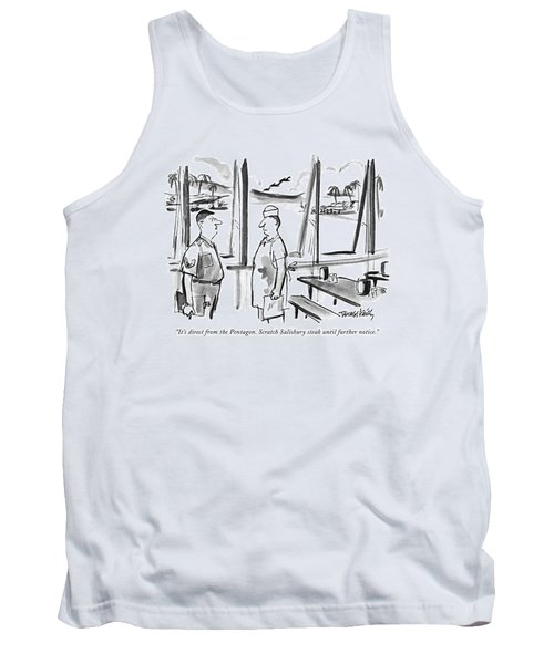 It's Direct From The Pentagon. Scratch Salisbury Tank Top