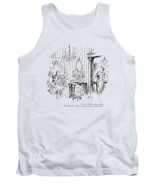 It's Our Oliver Tank Top