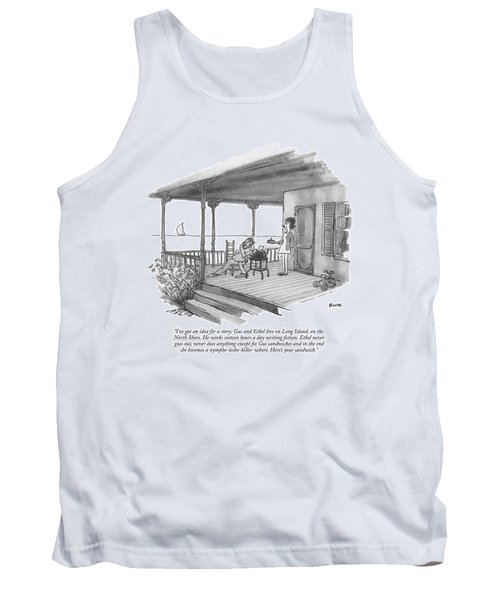 I've Got An Idea For A Story: Gus And Ethel Live Tank Top