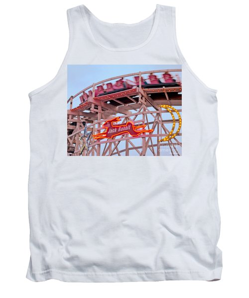 Jack Rabbit Coaster Kennywood Park Tank Top