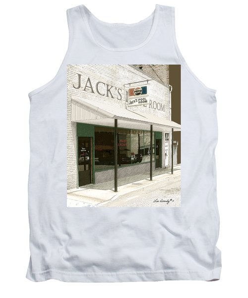 Jack's Pool Room Tank Top