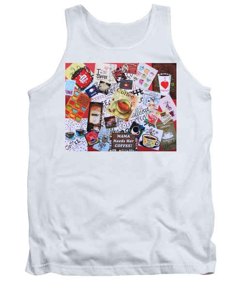 Java Lover's Collage Tank Top
