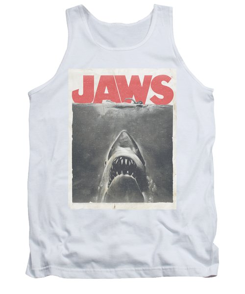 Jaws - Classic Fear Tank Top by Brand A